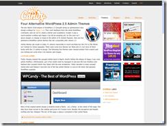 Change your WordPress Admin theme