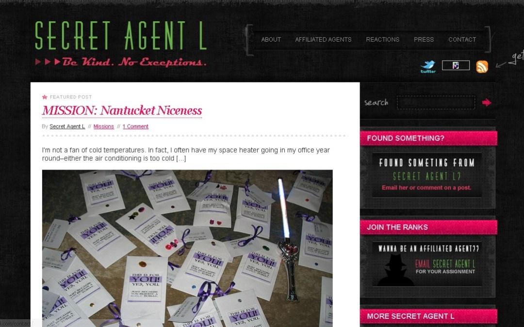 Site Profile: SecretAgentL.com