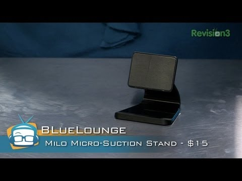 REVIEW – Milo Micro-Suction Phone Stand