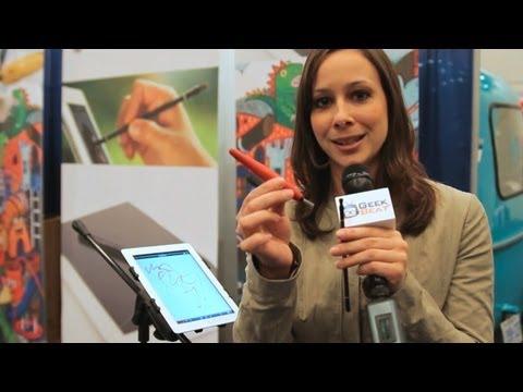 MacWorld/iWorld 2012 – Nomad Brush Stylus