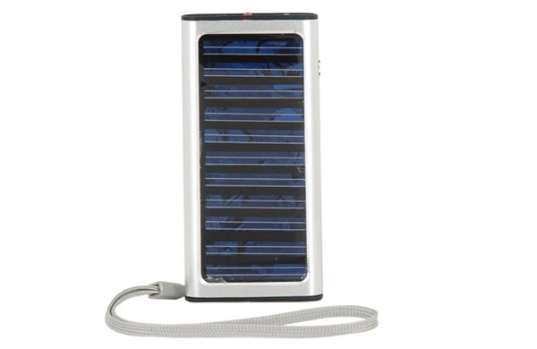 Silver-Mini-Solar-Charger
