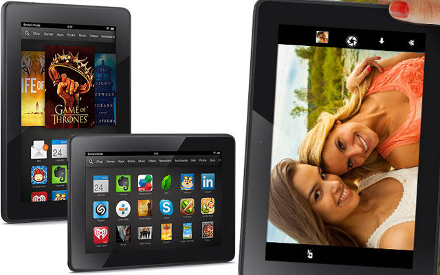 Amazon Tablets: Runner up of Q3 projected shipments