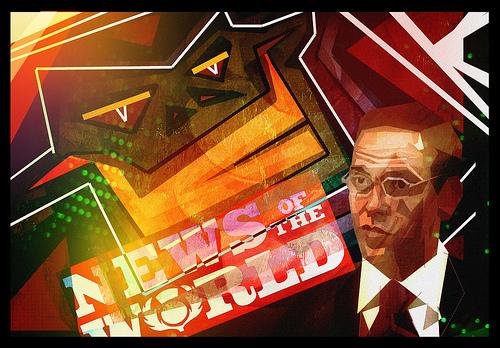 news of the world shutdown media etiquette