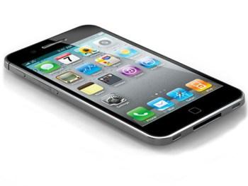 Apple iphone 5 slanting view
