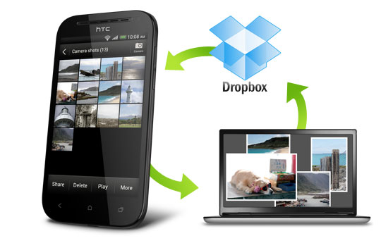 Drop more on Dropbox with HTC smartphones