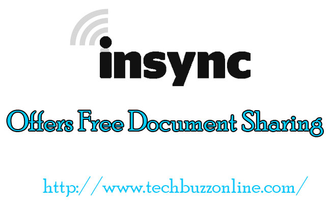 Insync Offers Free Document Sharing