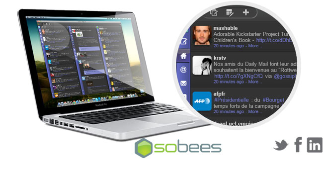Sobees Desktop: A Social Network Manager