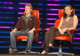Mark Zuckerberg and Sheryl Sandberg