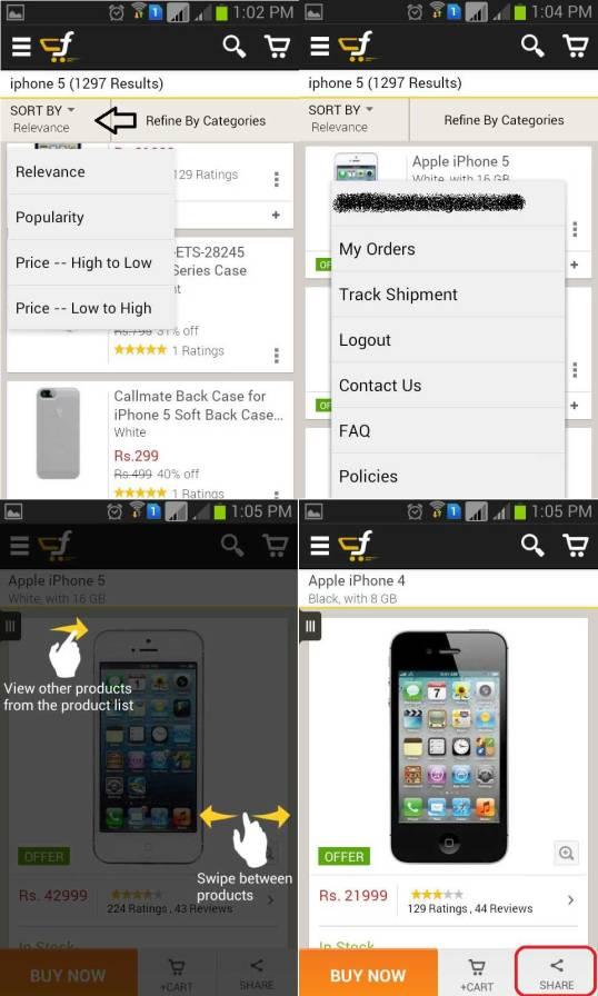 Flipkart App For Android Phones