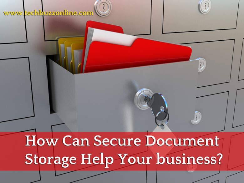 How Can Secure Document Storage Help Your business?