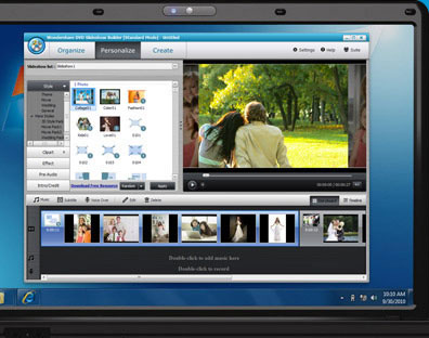 DVD Slideshow Builder - iMovie Alternative For Windows