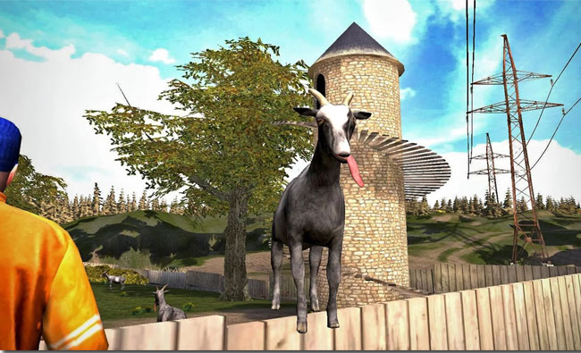 Goat simulator to hit iOS and Android devices