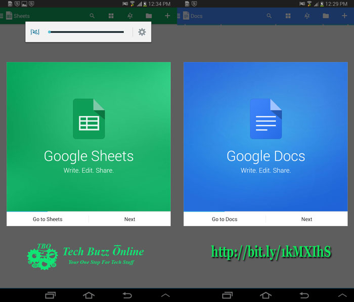 Google Launches Standalone Apps: Docs And Sheets For iOS And Android