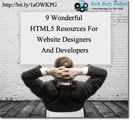 9 Wonderful HTML5 Resources For Website Designers And Developers