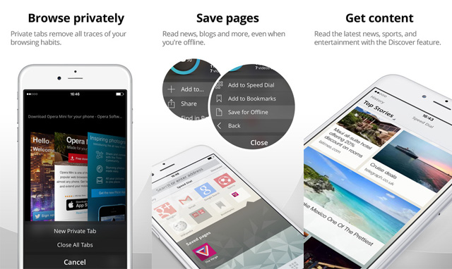 Opera Mini 9 for iOS users helps reduce mobile data usage