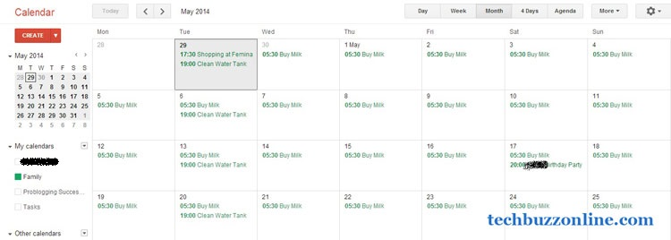 Organize Your Family Plans With The All Famous Google Calendar