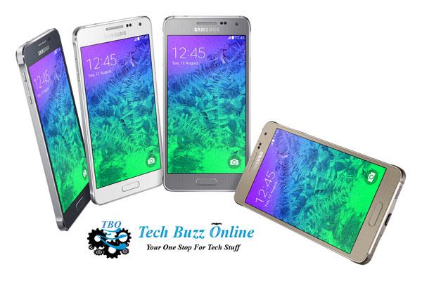 Samsung Galaxy Alpha: The iphone-like metallic edged phone