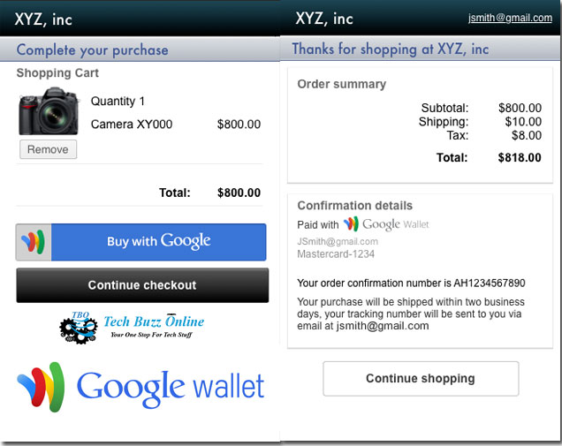 iOS users can now buy with 2 clicks via Google Wallet's Instant Buy
