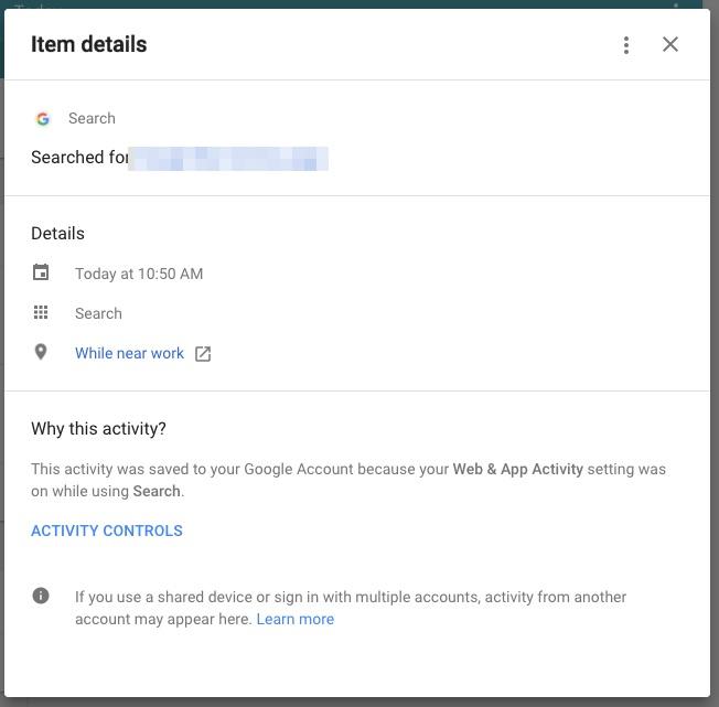 my activity details popup_2