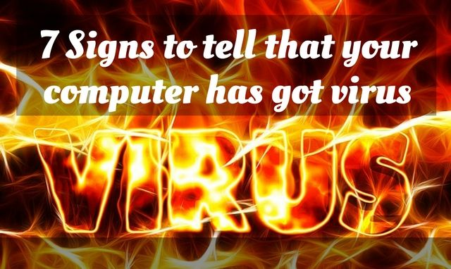 How to tell whether your computer has got virus