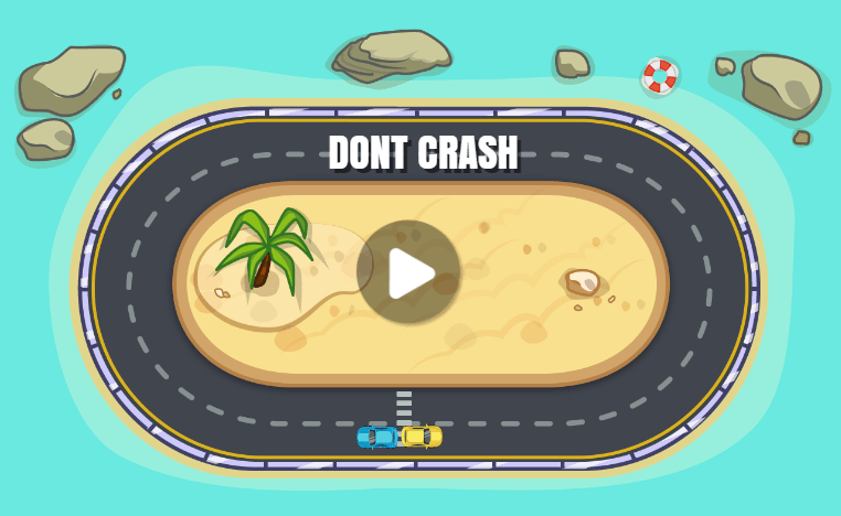 dont crash car game