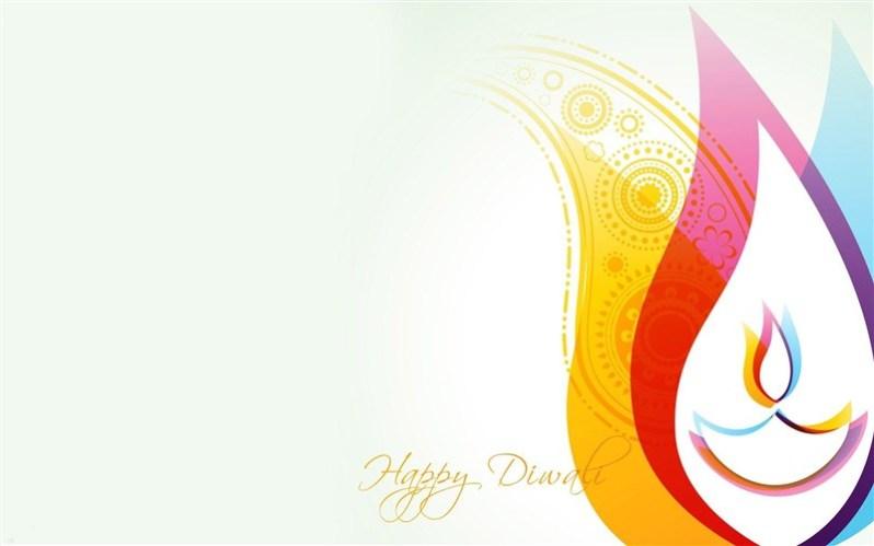 Diwali Colorful Rangoli