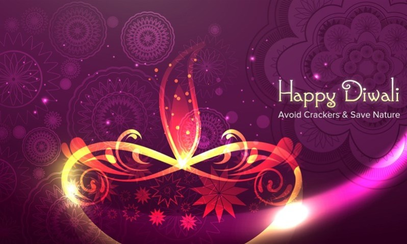Say No to Crackers Diwali Message