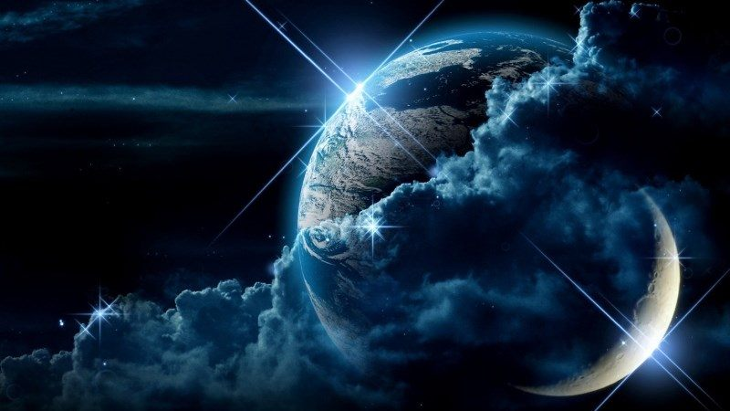 Planet Clouds Light Star