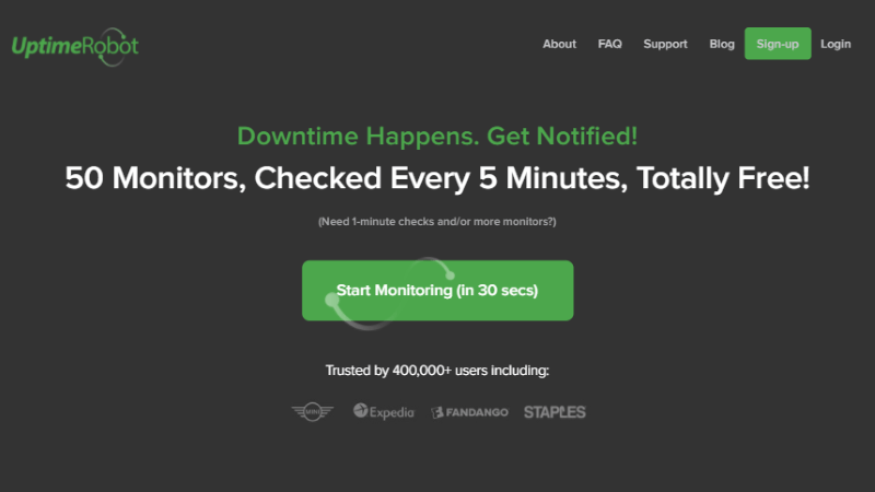 Uptime Robot Review – Free Uptime Monitoring for Websites