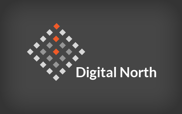 digital north logo design