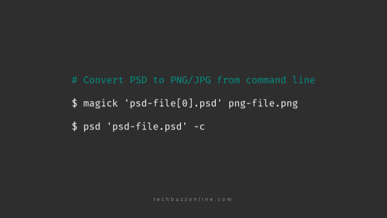 export image from psd cli