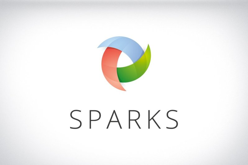 sparks identity brand design logo graphic