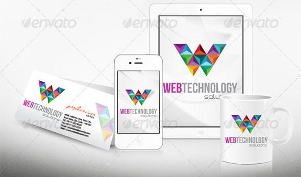 web technology logo
