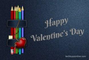 Happy Valentine Day Greeting Card 1