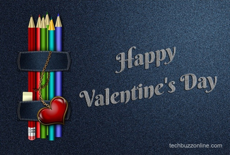 Happy Valentine Day Greeting Card 1