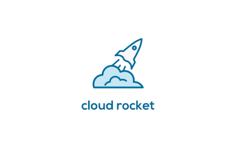 1 cloud rocket logo