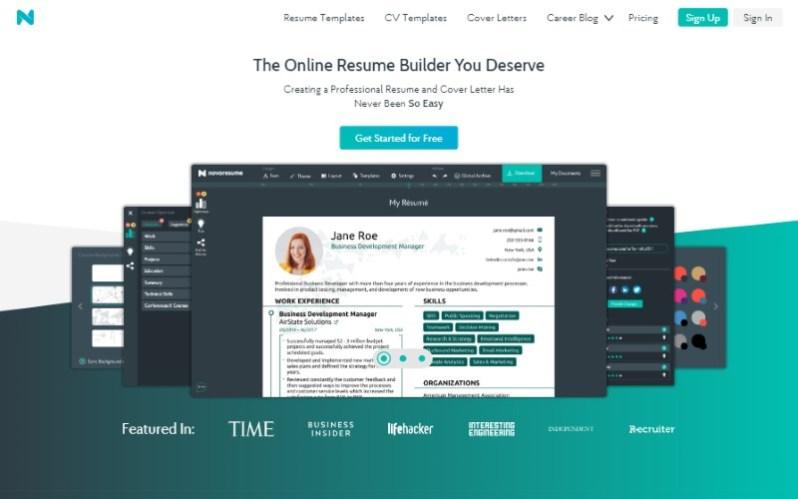 15 best free online resume builders for job application cv tech