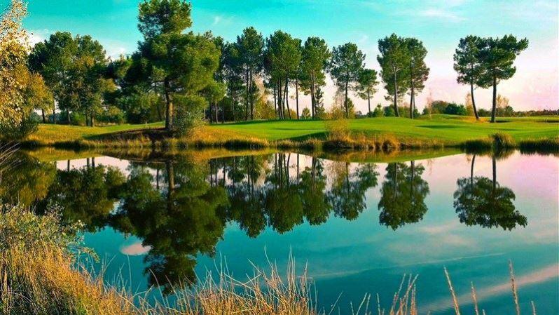 Reflection Scenic Lake Nature HD Wallpaper