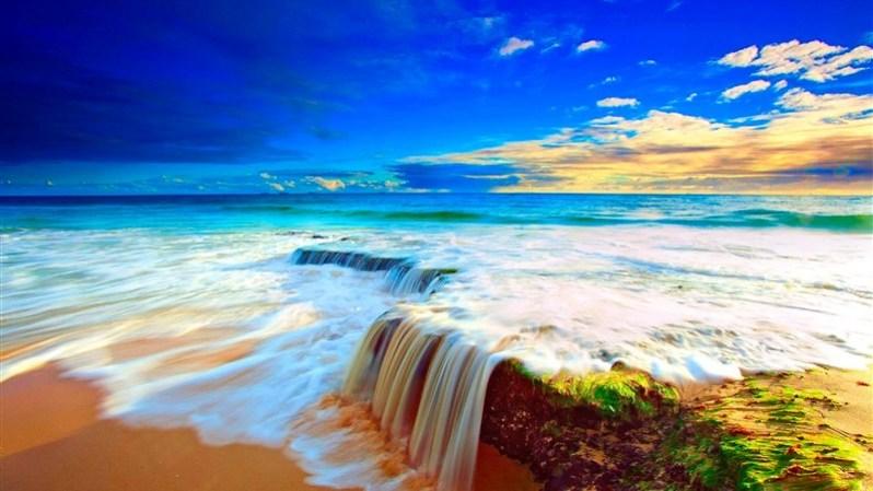 Sunny Sea Natute Wallpaper HD