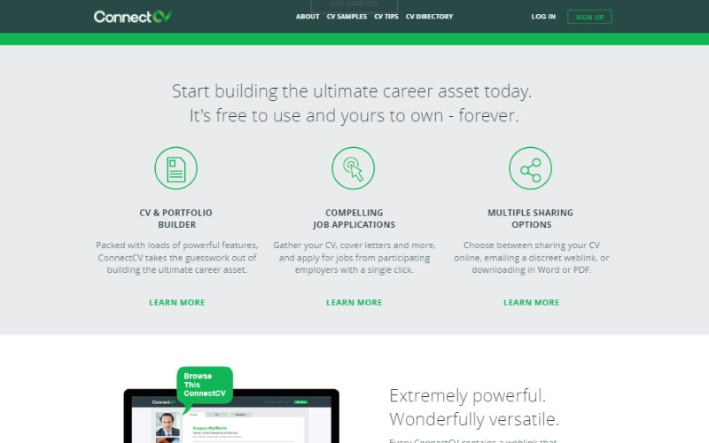 14 connectcv resume builder