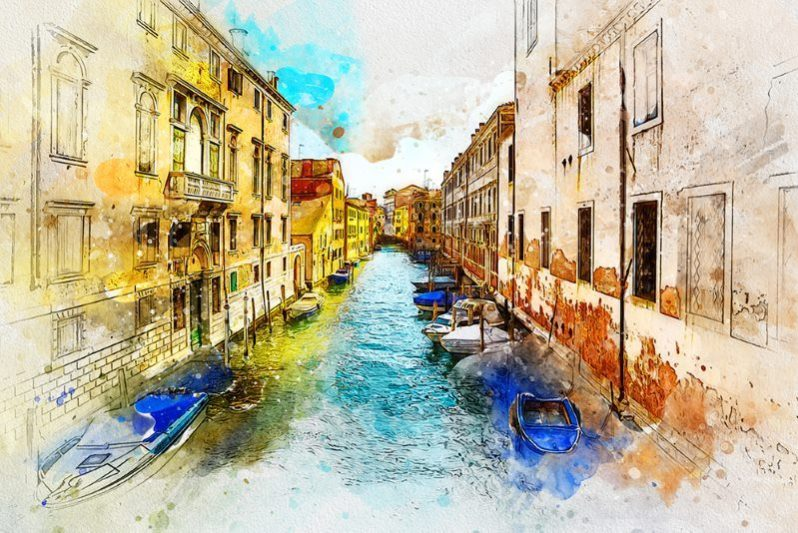 watercolor 2 artist photoshop action