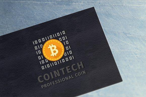 23 cointech logo professional coin
