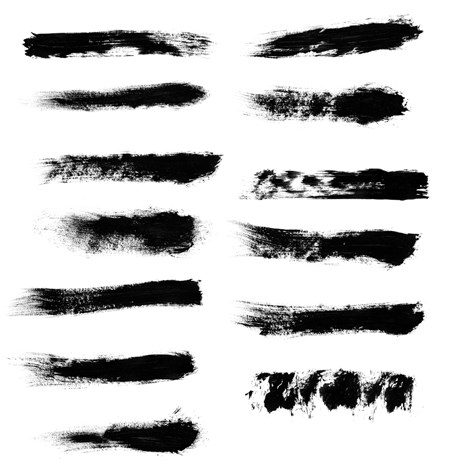 High Quality Rough and Grungy Photoshop Brushes