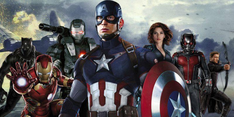 Captain America Civil War Superhero Wallpaper