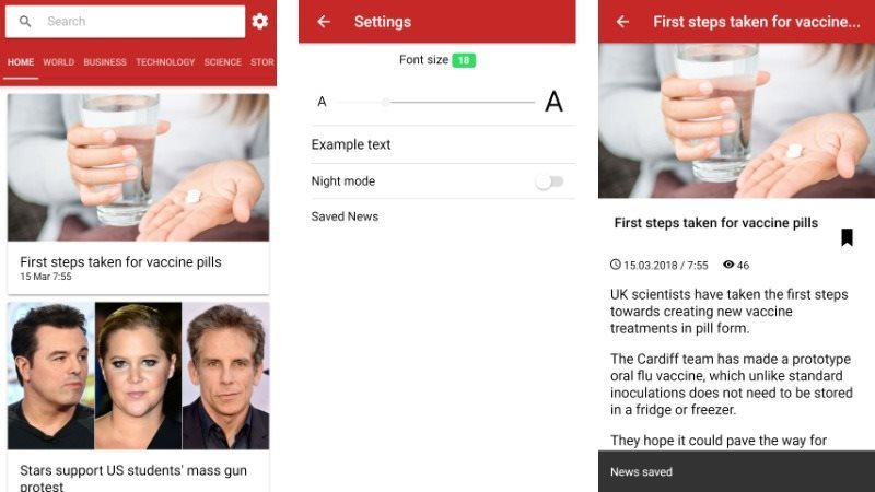 IonNewsApp Full News App and Managment System