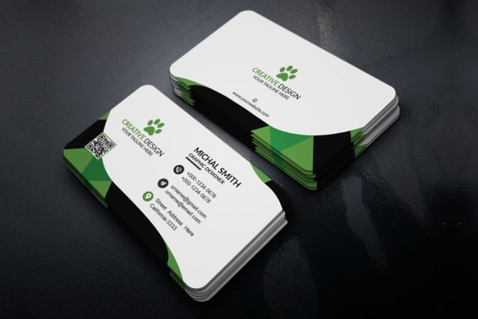 25 modern business card templates psd ai eps download. Black Bedroom Furniture Sets. Home Design Ideas