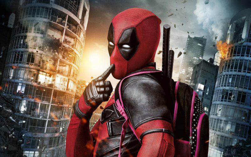 Marvel Deadpool Movie Wallpaper