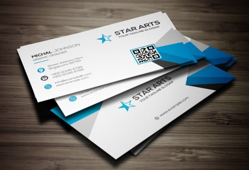 25 modern business card templates psd ai eps download tech corporate business card template cheaphphosting Gallery