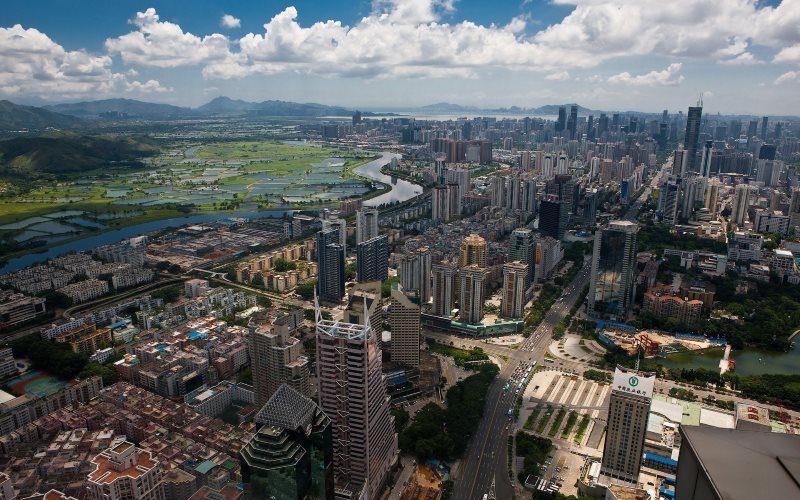Urban City Hong Kong Wallpaper
