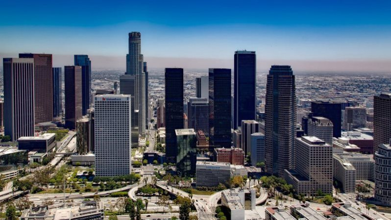 Los Angeles Urban City Wallpaper